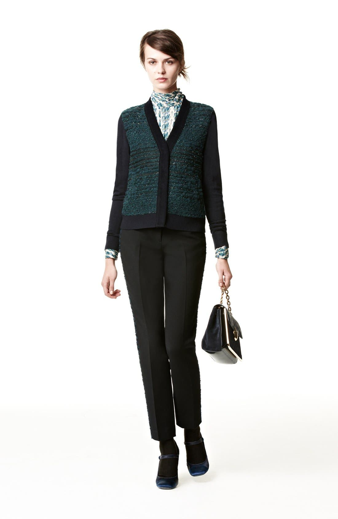 Alternate Image 5  - Tory Burch 'Tobie' Stretch Tuxedo Pants