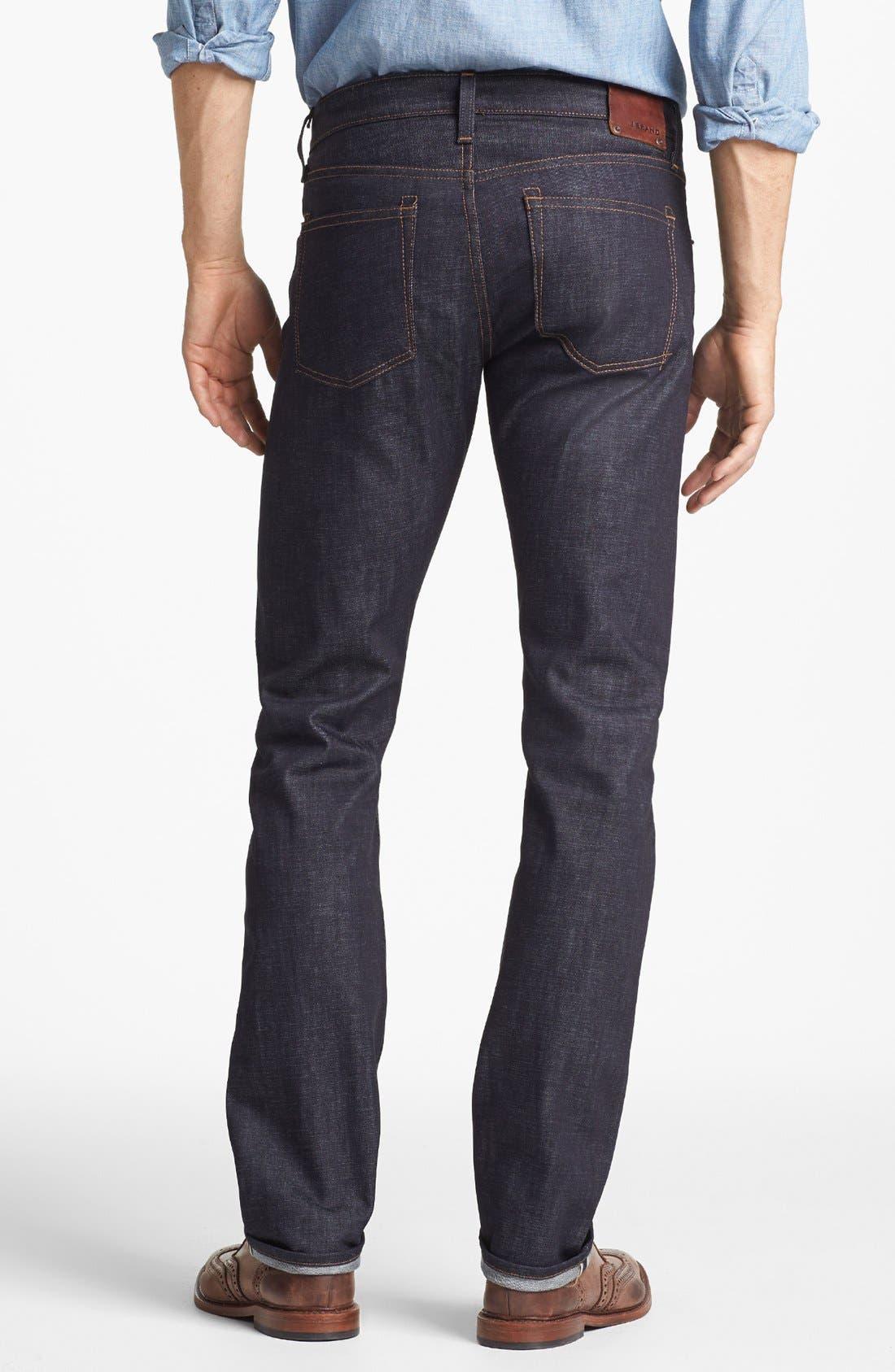 Alternate Image 2  - J Brand 'Tyler' Slim Fit Jeans (Raw Selvedge)