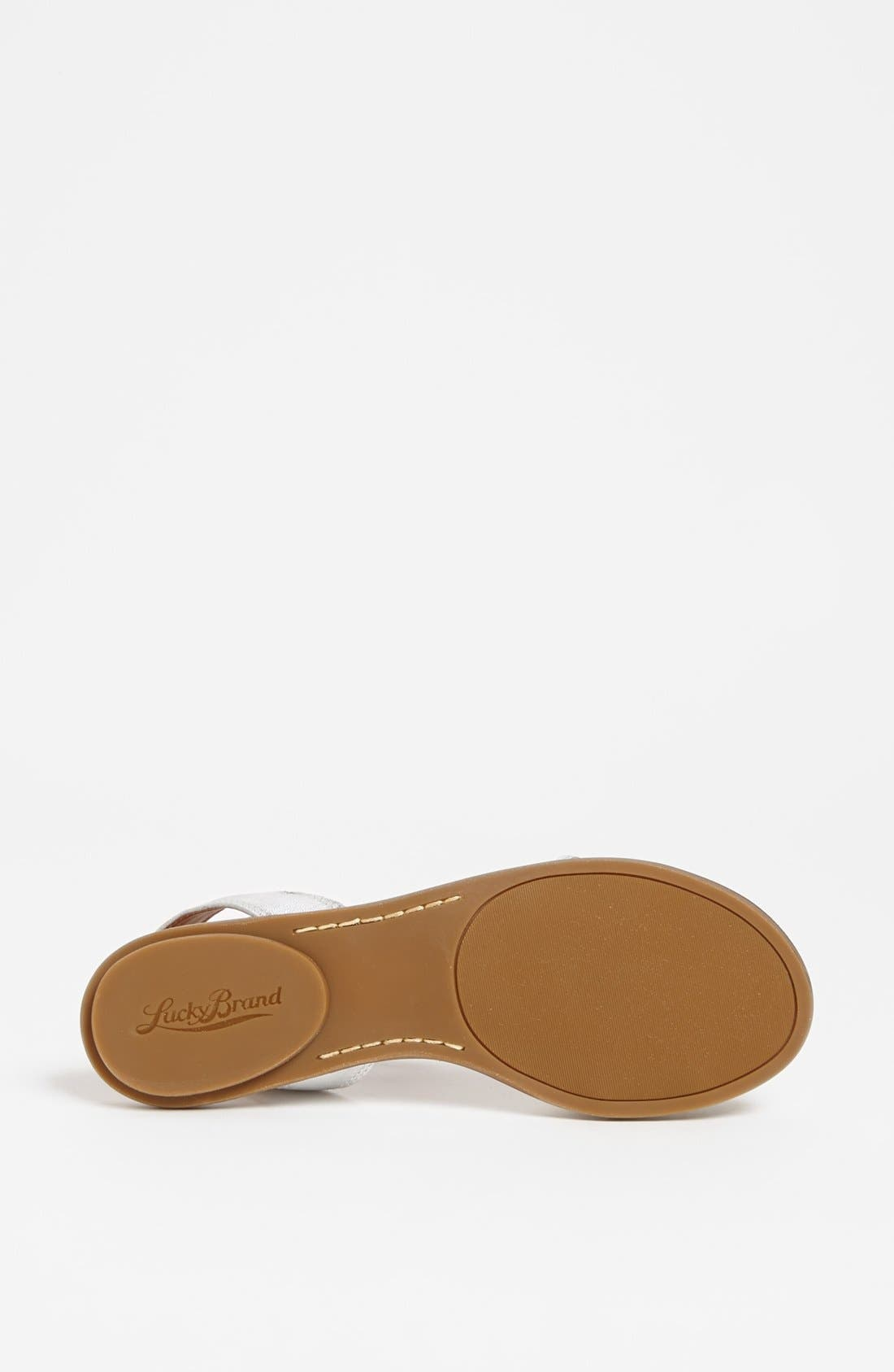 Alternate Image 4  - Lucky Brand 'Covela' Sandal