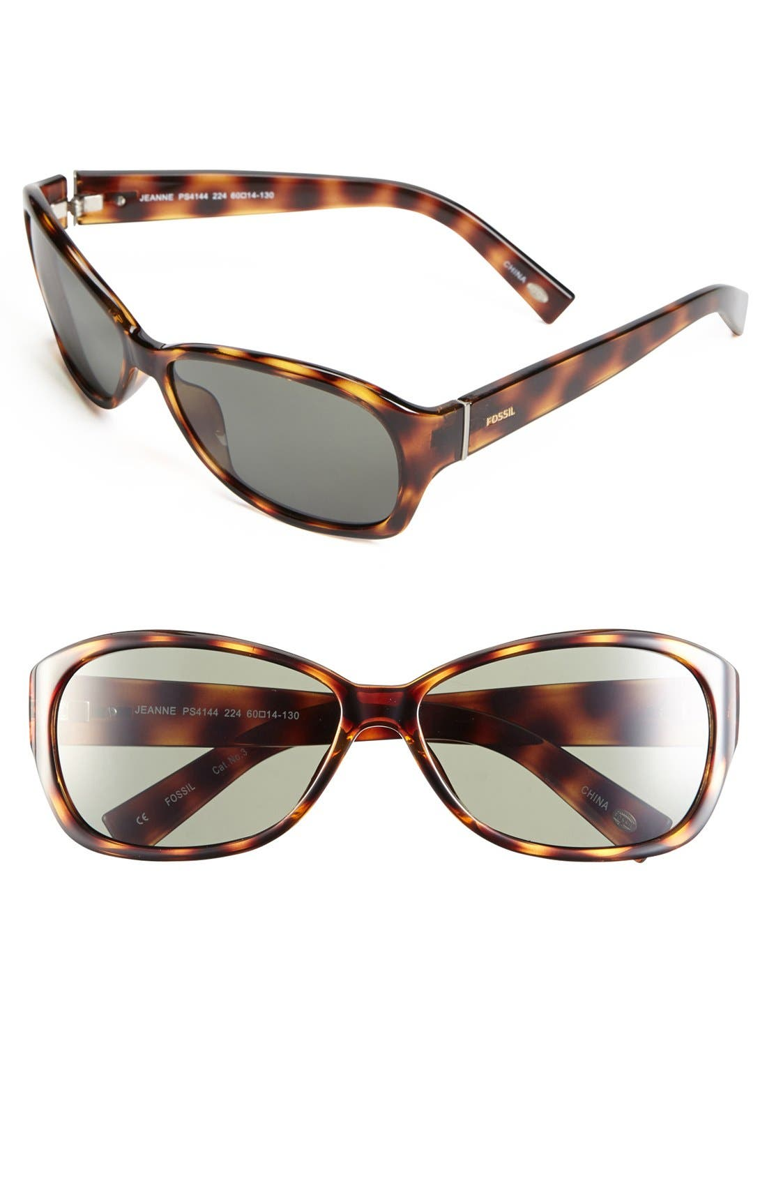 Main Image - Fossil 'Jeanne' 60mm Sunglasses
