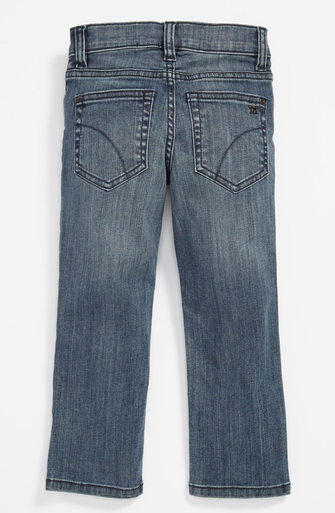 Alternate Image 1 Selected - Joe's 'Brixton' Straight Leg Jeans (Toddler Boys)