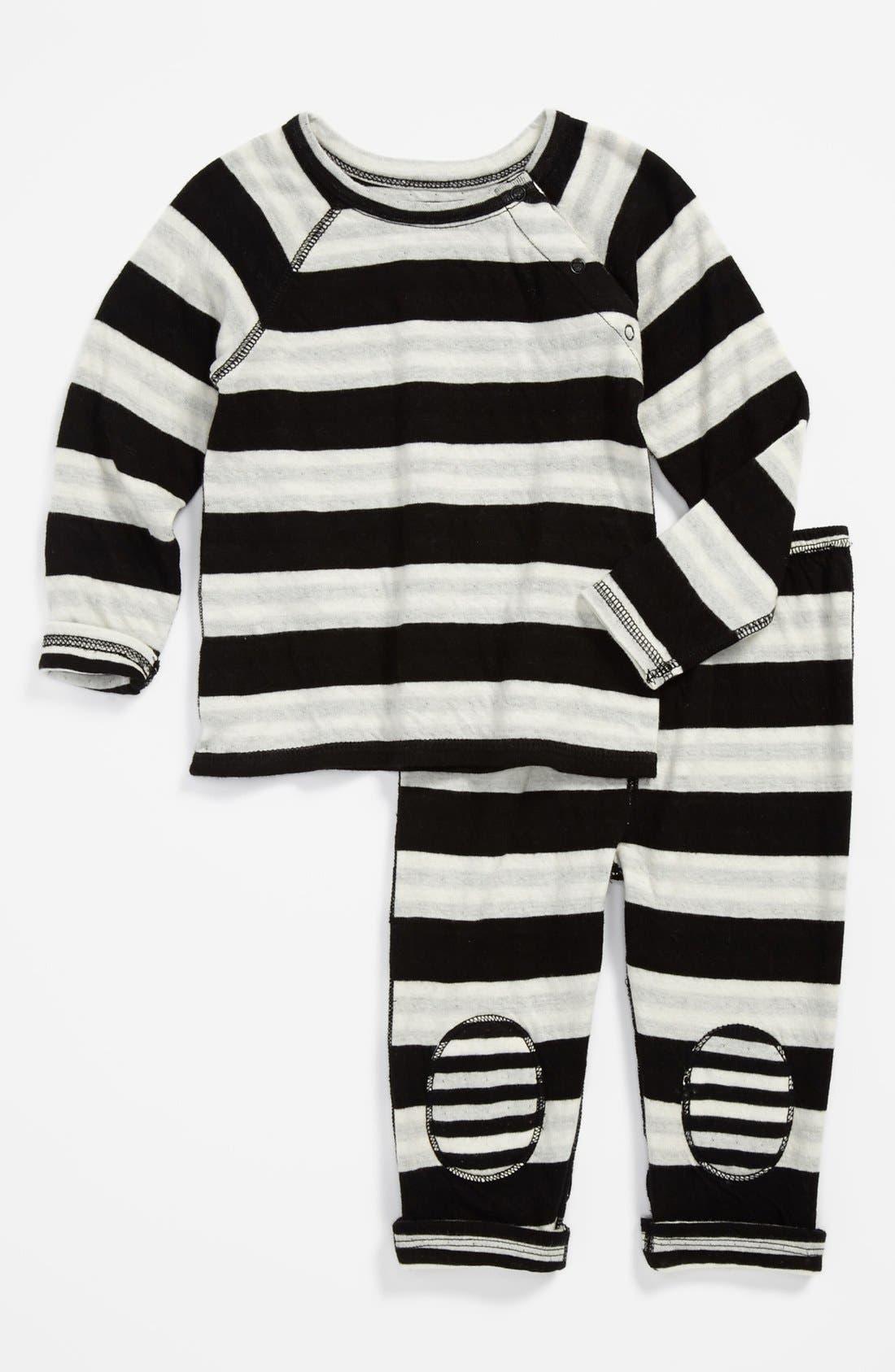 Alternate Image 2  - Nordstrom Baby T-Shirt & Pants (Baby)