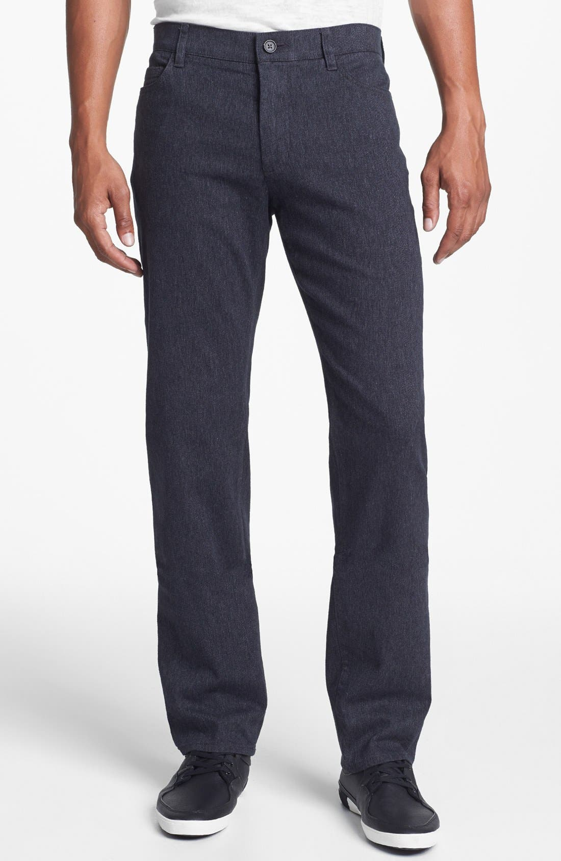 Alternate Image 1 Selected - Vince Slim Fit Five Pocket Straight Leg Pants