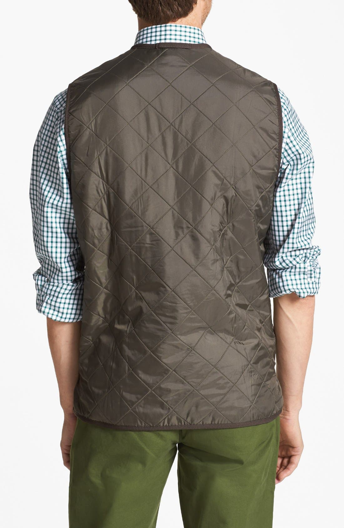Alternate Image 2  - Barbour 'Polarquilt' Relaxed Fit Zip-In Liner Vest