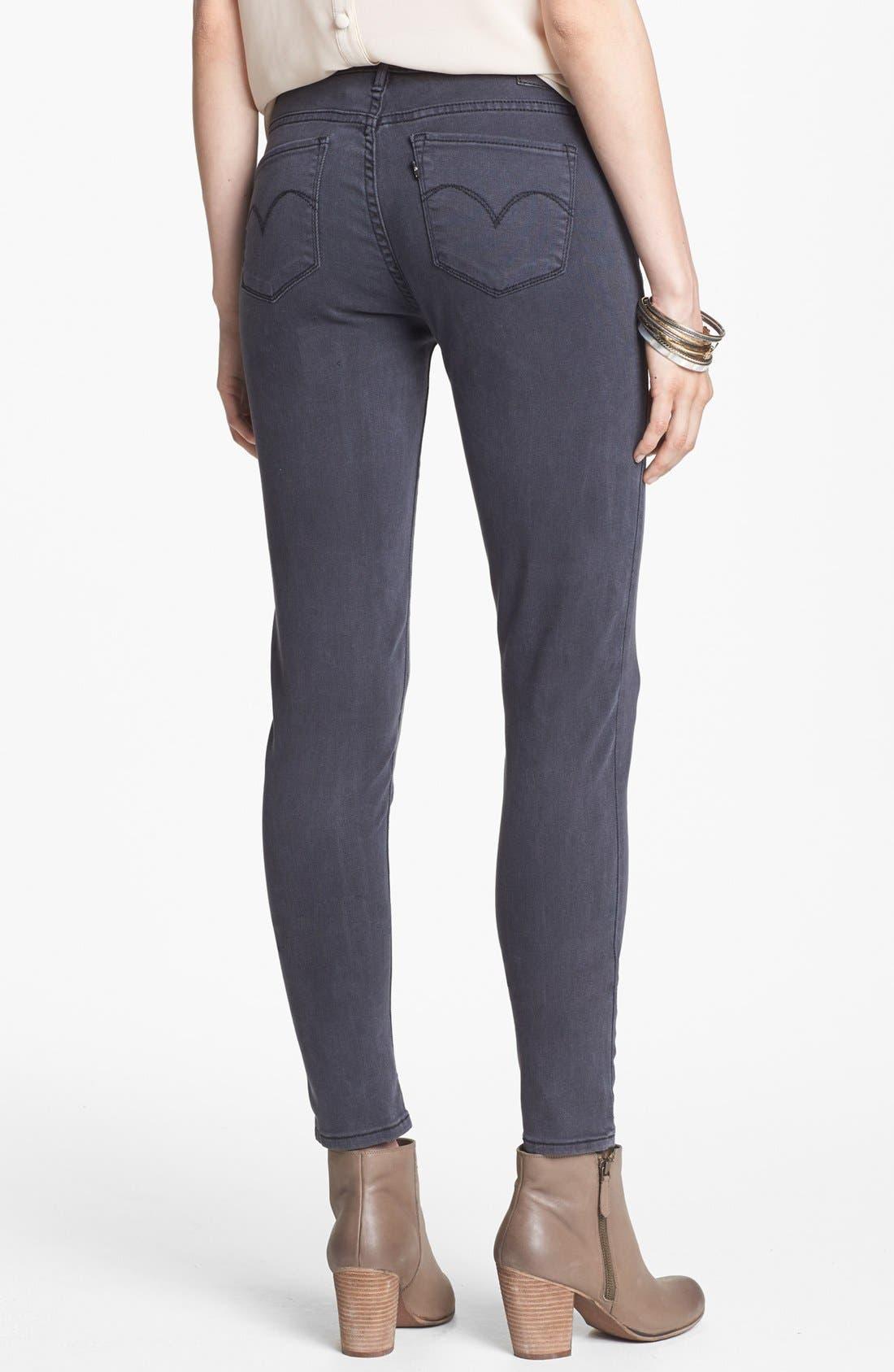 Alternate Image 2  - Levi's® 'Core Better Legging' Skinny Jeans (Dark)