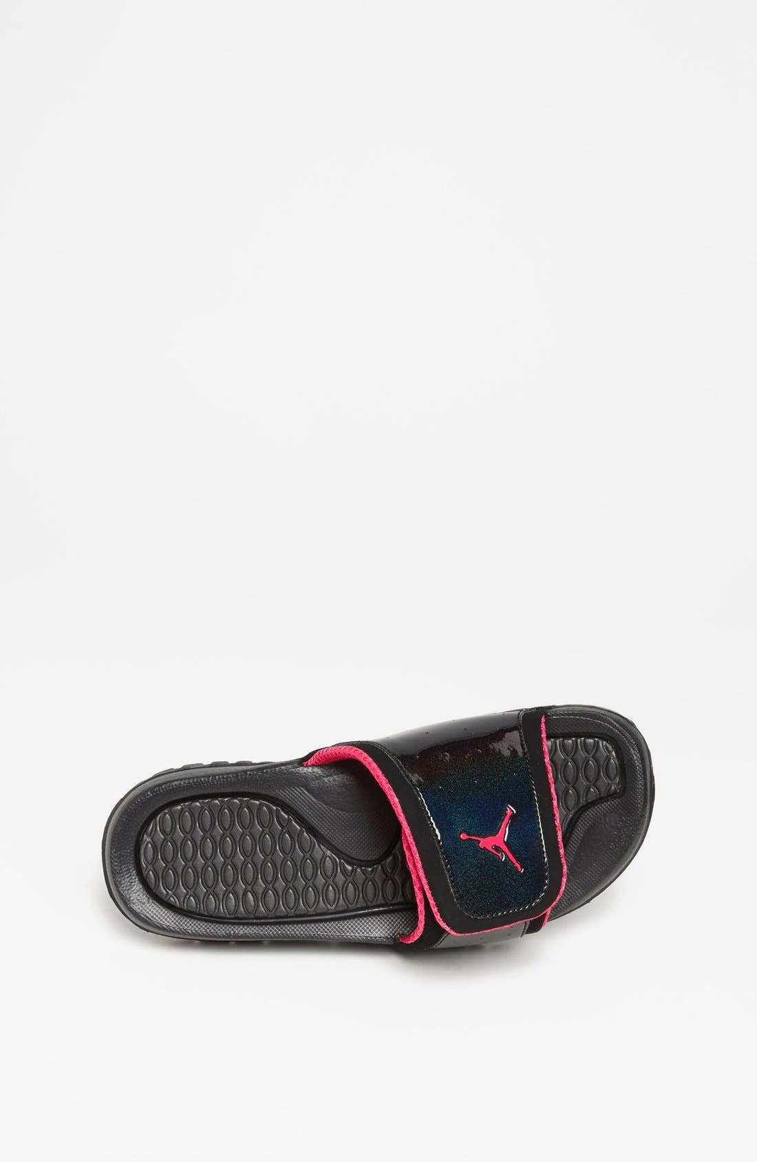 Alternate Image 3  - Nike 'Jordan Hydro II' Sandal (Big Kid)