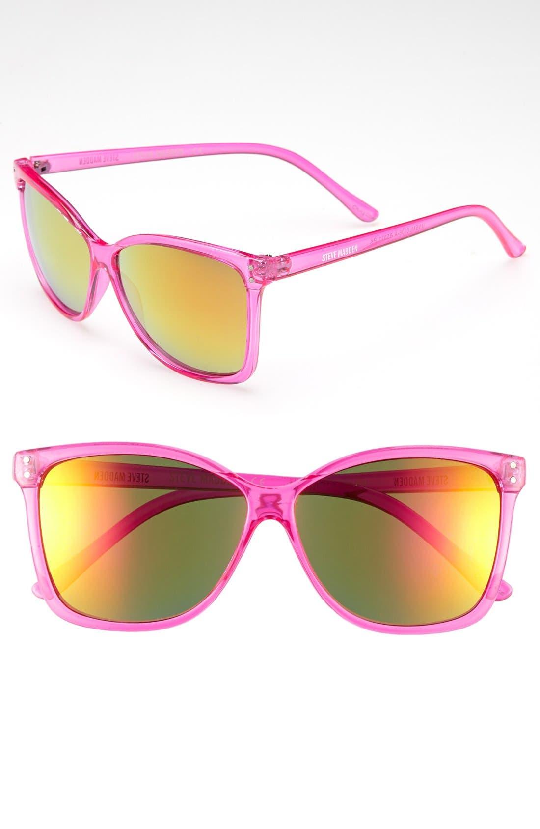 Main Image - Steve Madden 60mm Retro Sunglasses