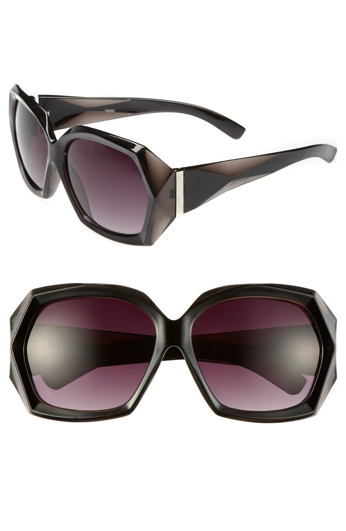 Alternate Image 1 Selected - BP. 'Nicole' Oversized Sunglasses (Juniors)