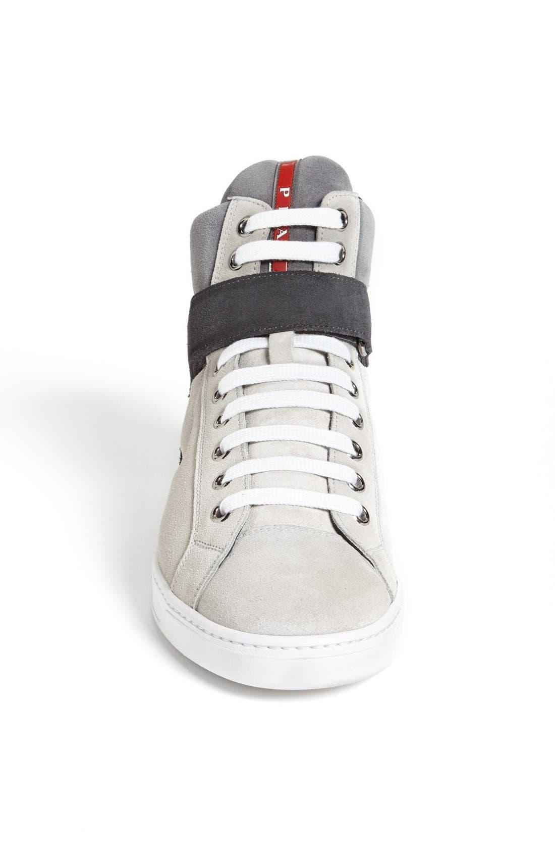 Alternate Image 3  - Prada 'Avenue' High Top Sneaker