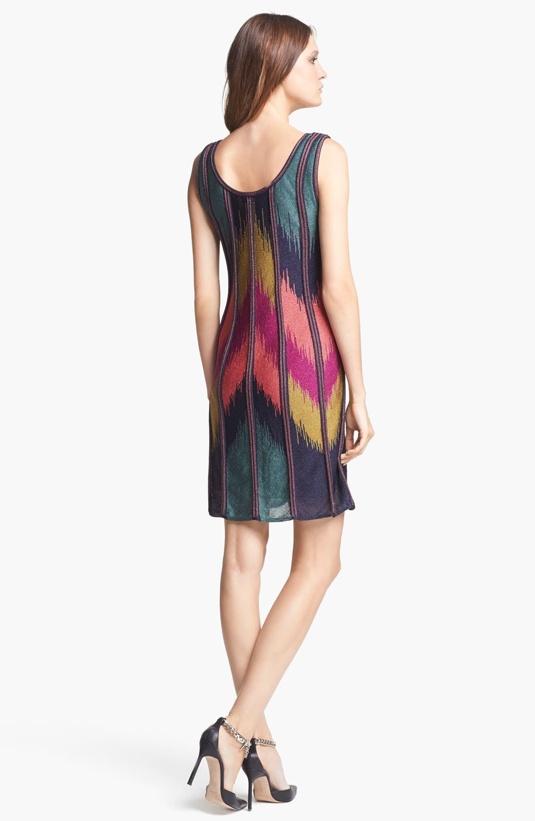 Alternate Image 2  - M Missoni Ikat Pattern Trapeze Dress