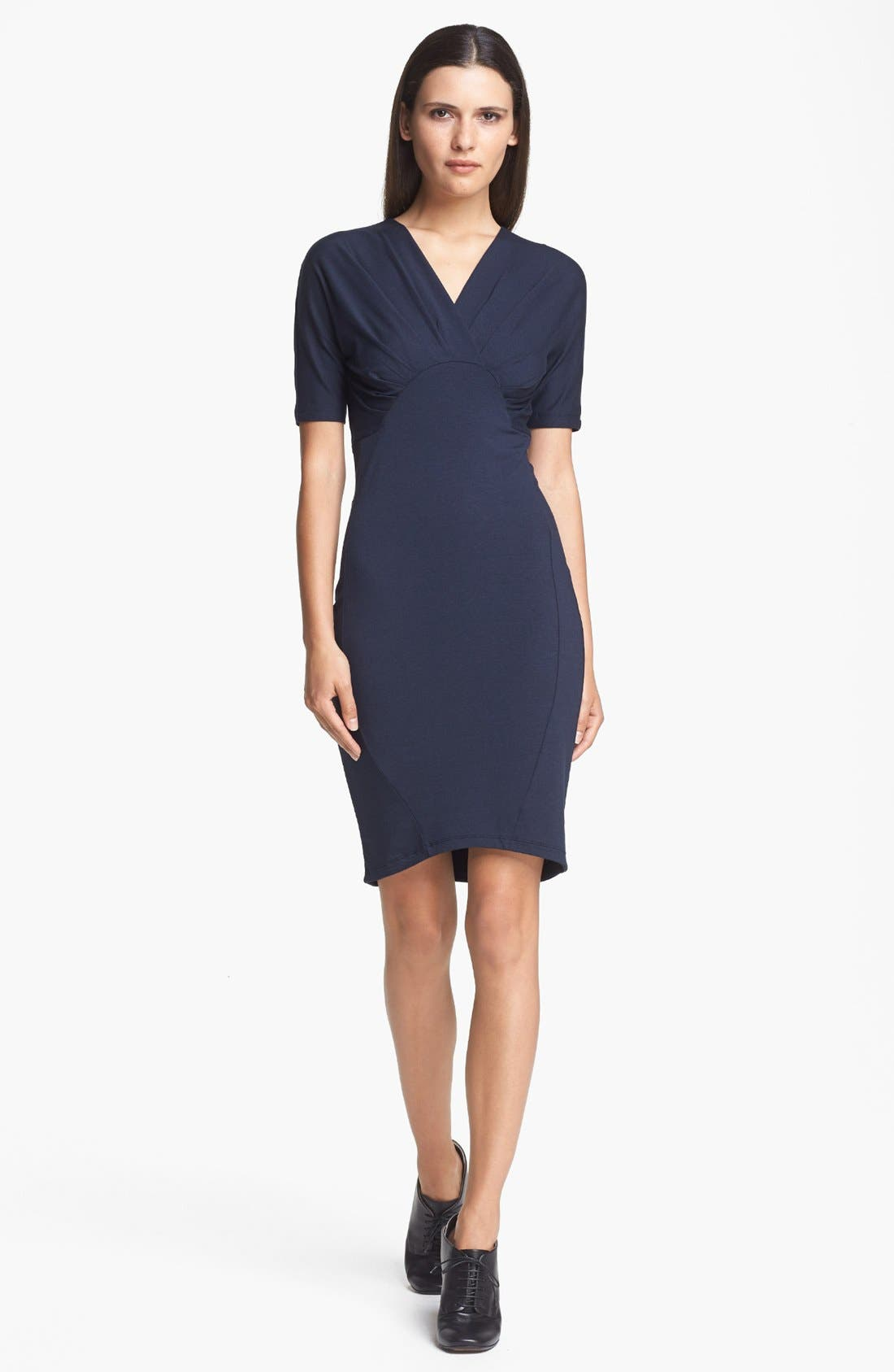 Alternate Image 1 Selected - Carven Lightweight Jersey Dress