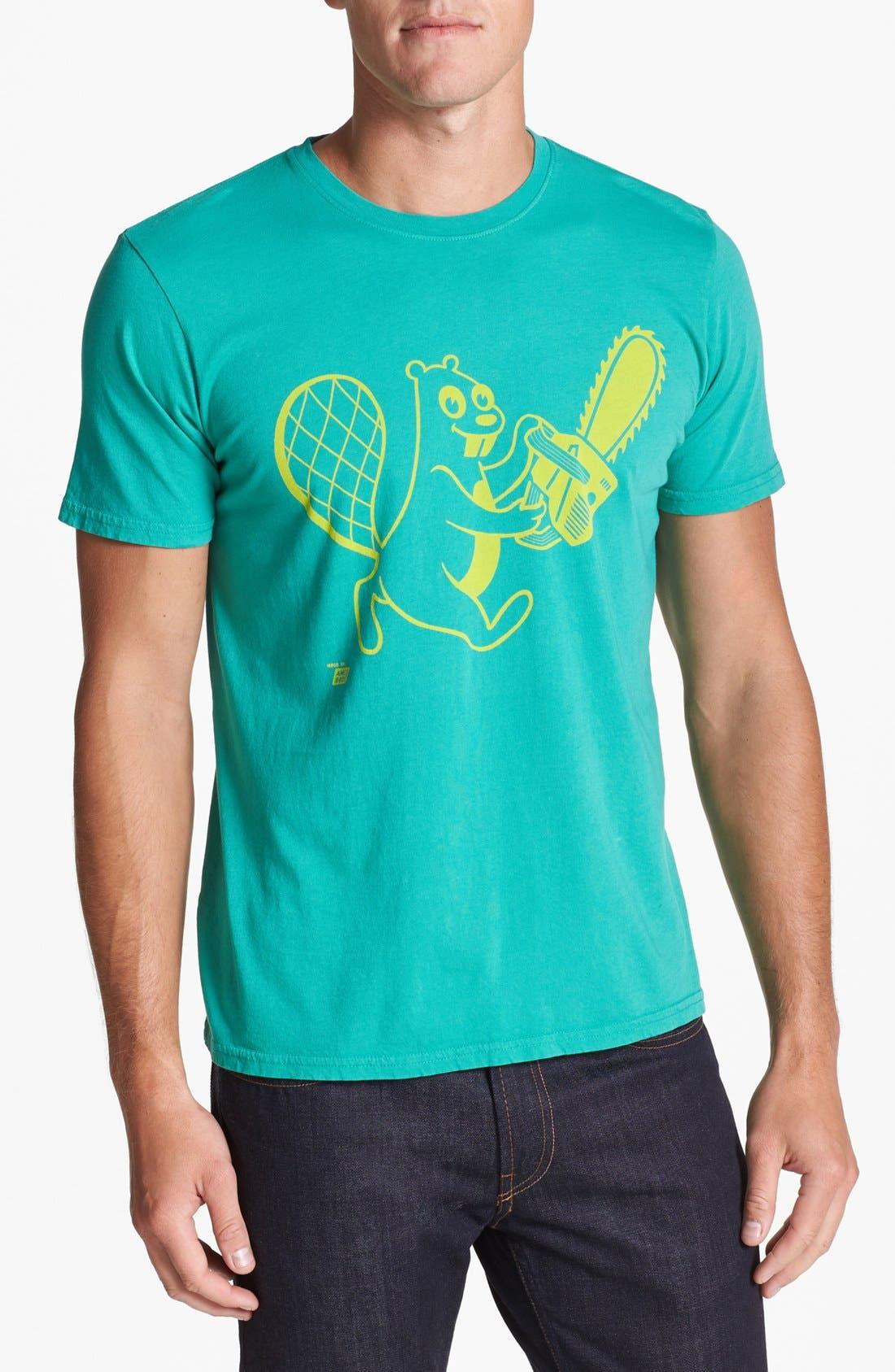 Alternate Image 1 Selected - Ames Bros 'Beaver' T-Shirt