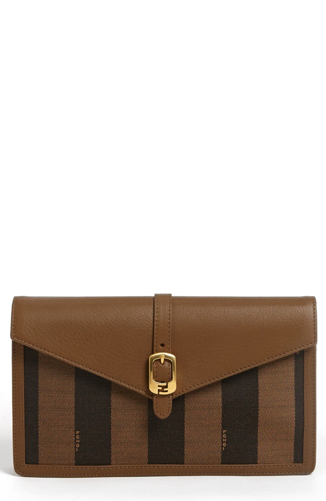 Alternate Image 1 Selected - Fendi 'Pequin' Clutch