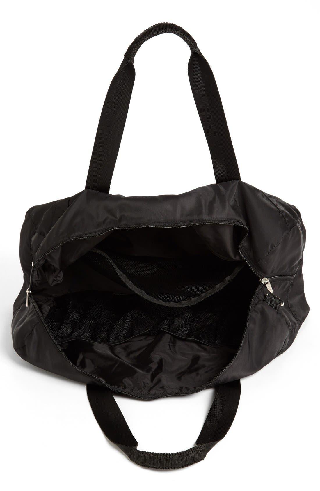 Alternate Image 3  - Zella Quilted Gear Duffel Bag