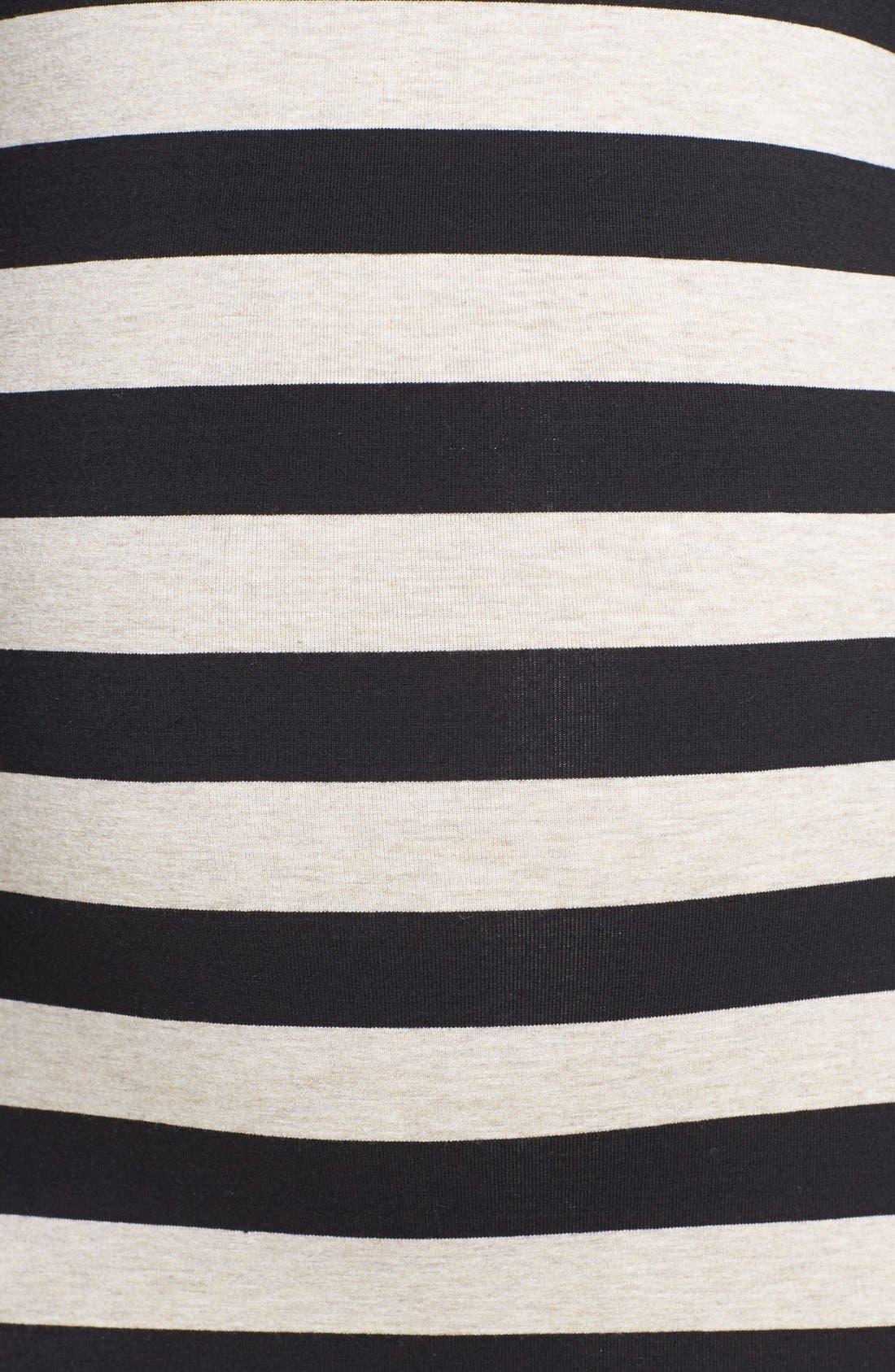 Alternate Image 3  - Nom Maternity 'Krystal' Stripe Maternity Dress