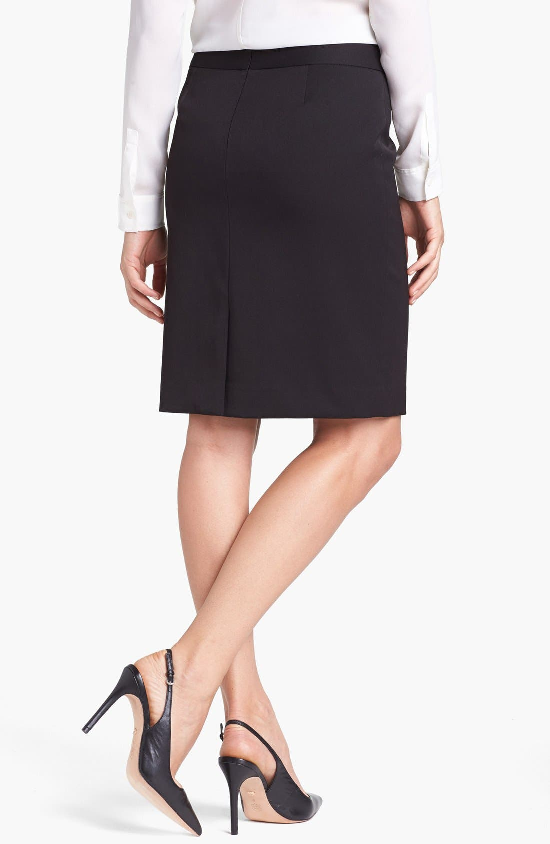 Alternate Image 2  - Anne Klein Pencil Skirt (Petite)