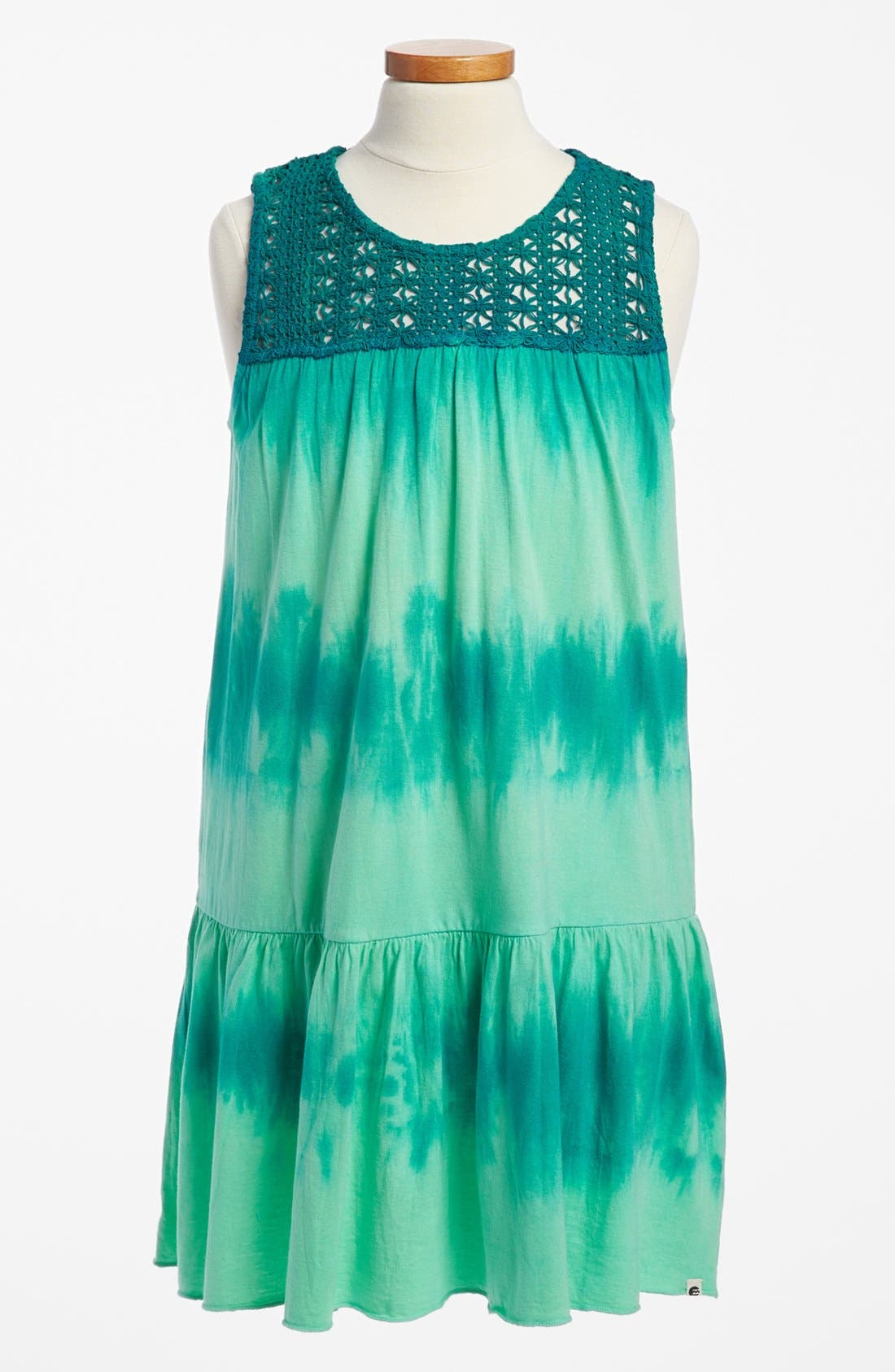 Alternate Image 1 Selected - Billabong 'Almost Done' Maxi Dress (Big Girls)