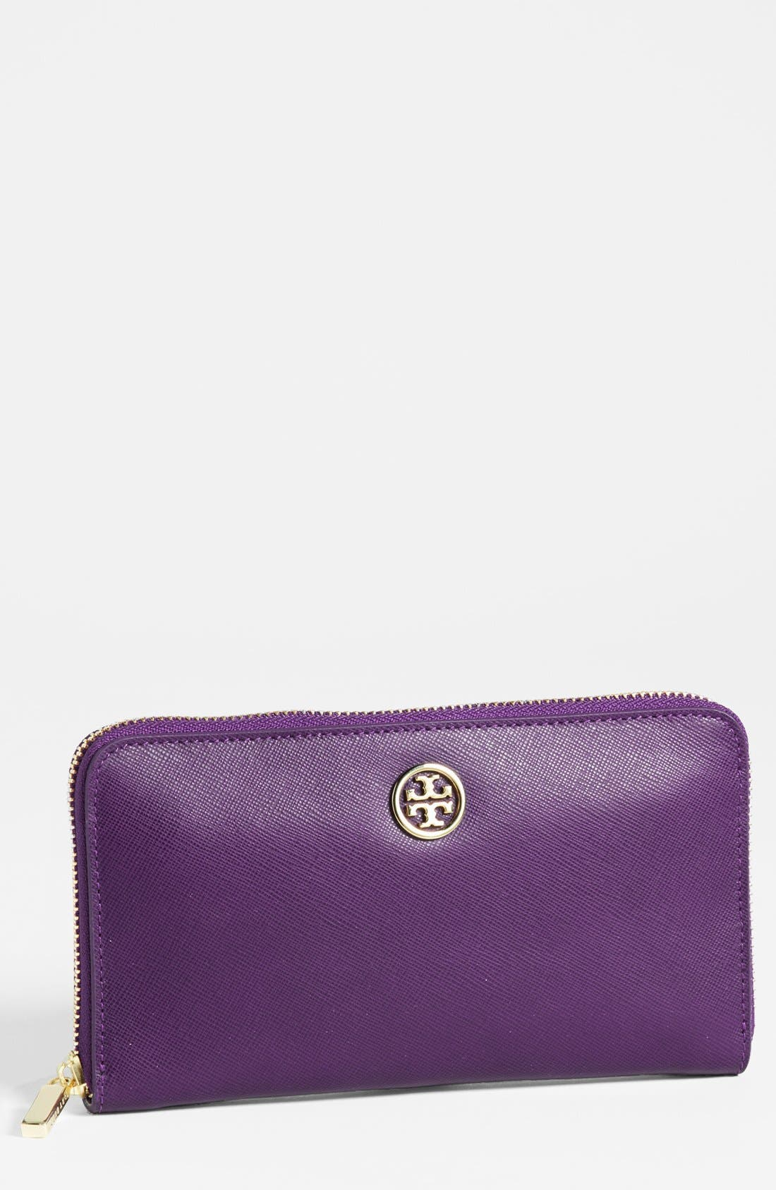 Main Image - Tory Burch 'Robinson' Zip Continental Wallet