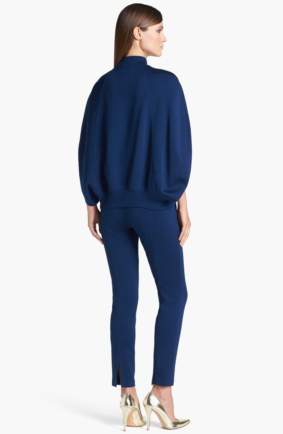 Alternate Image 3  - St. John Collection Milano Knit Cape Jacket