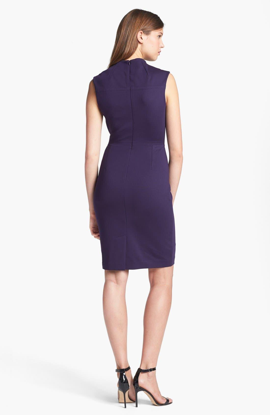 Alternate Image 2  - Trina Turk 'Jubee' Ponte Sheath Dress
