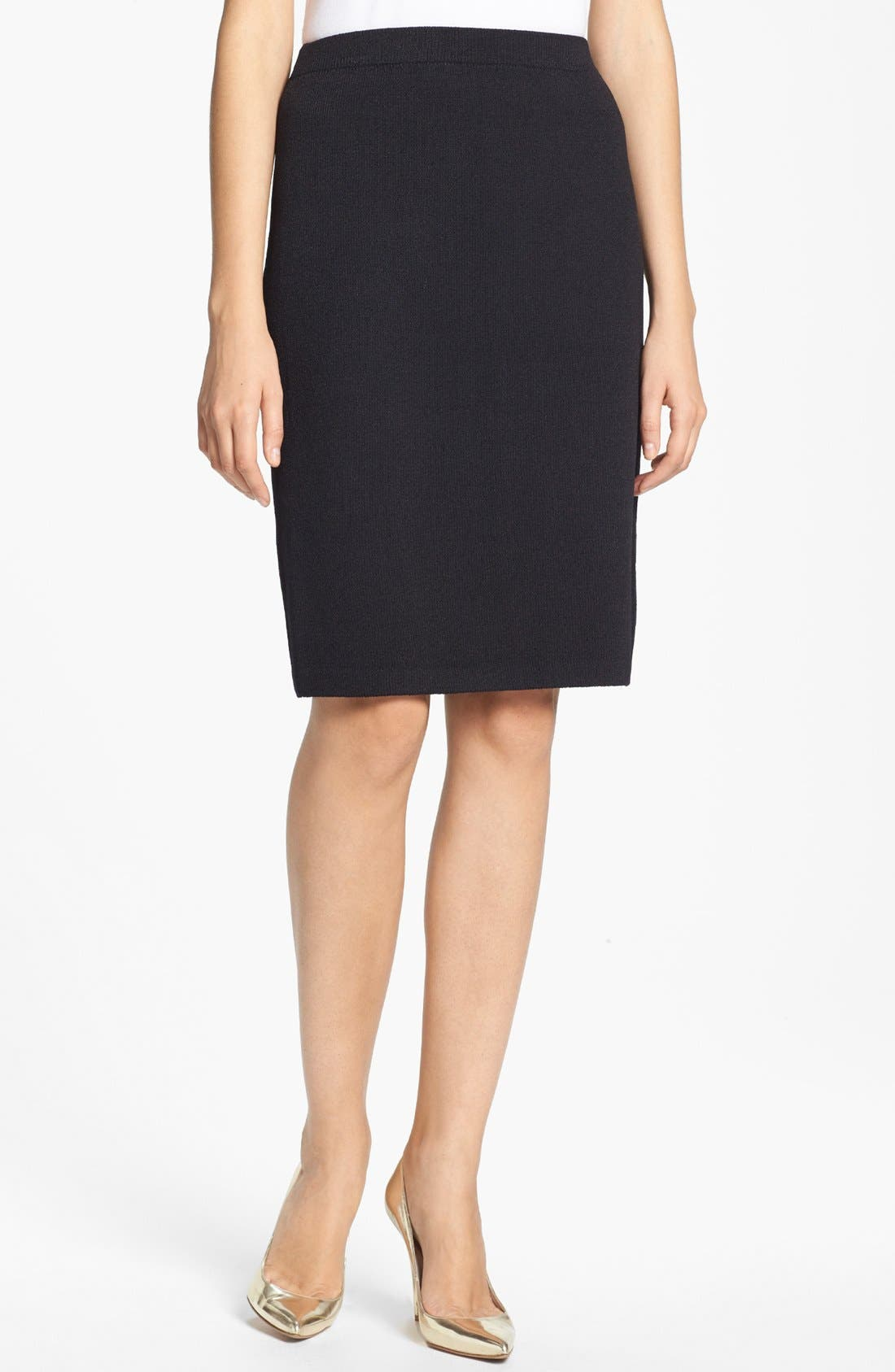 Main Image - St. John Collection Santana Knit Skirt