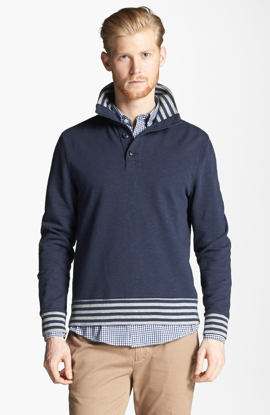 Alternate Image 1 Selected - Jack Spade 'Connors' Pullover Sweatshirt