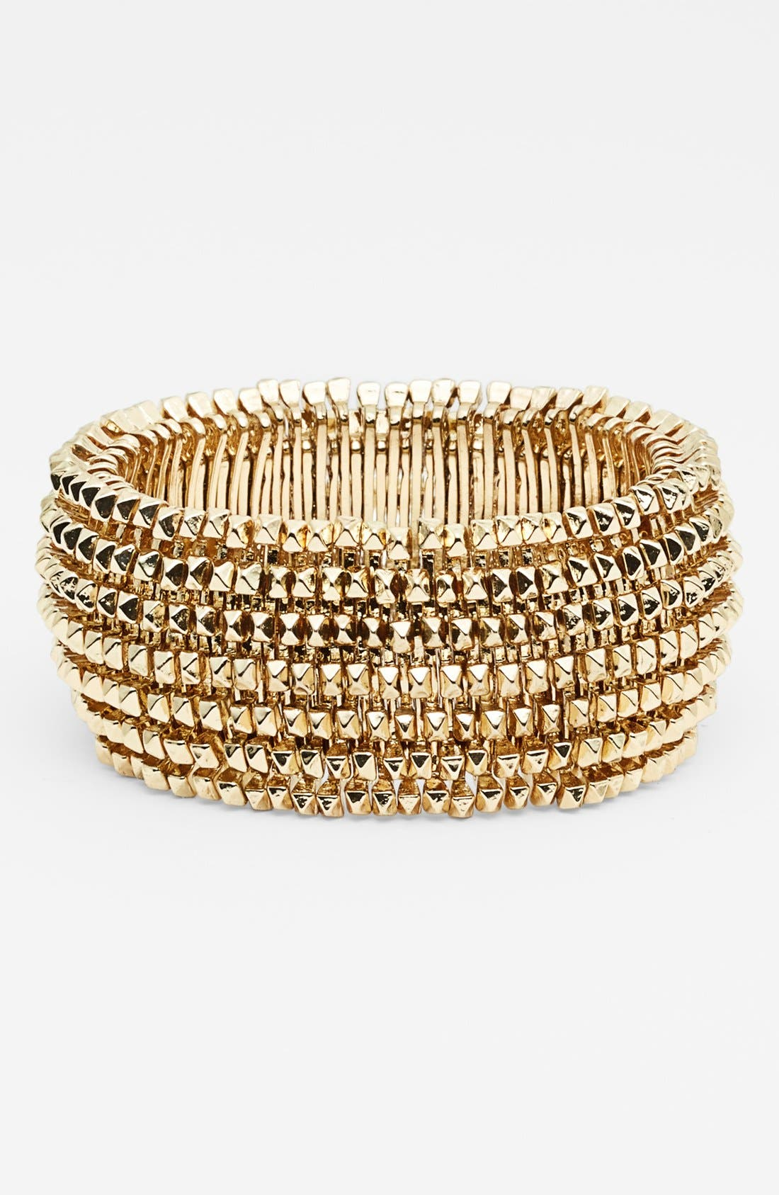Alternate Image 1 Selected - Tasha Spike Stretch Bracelet