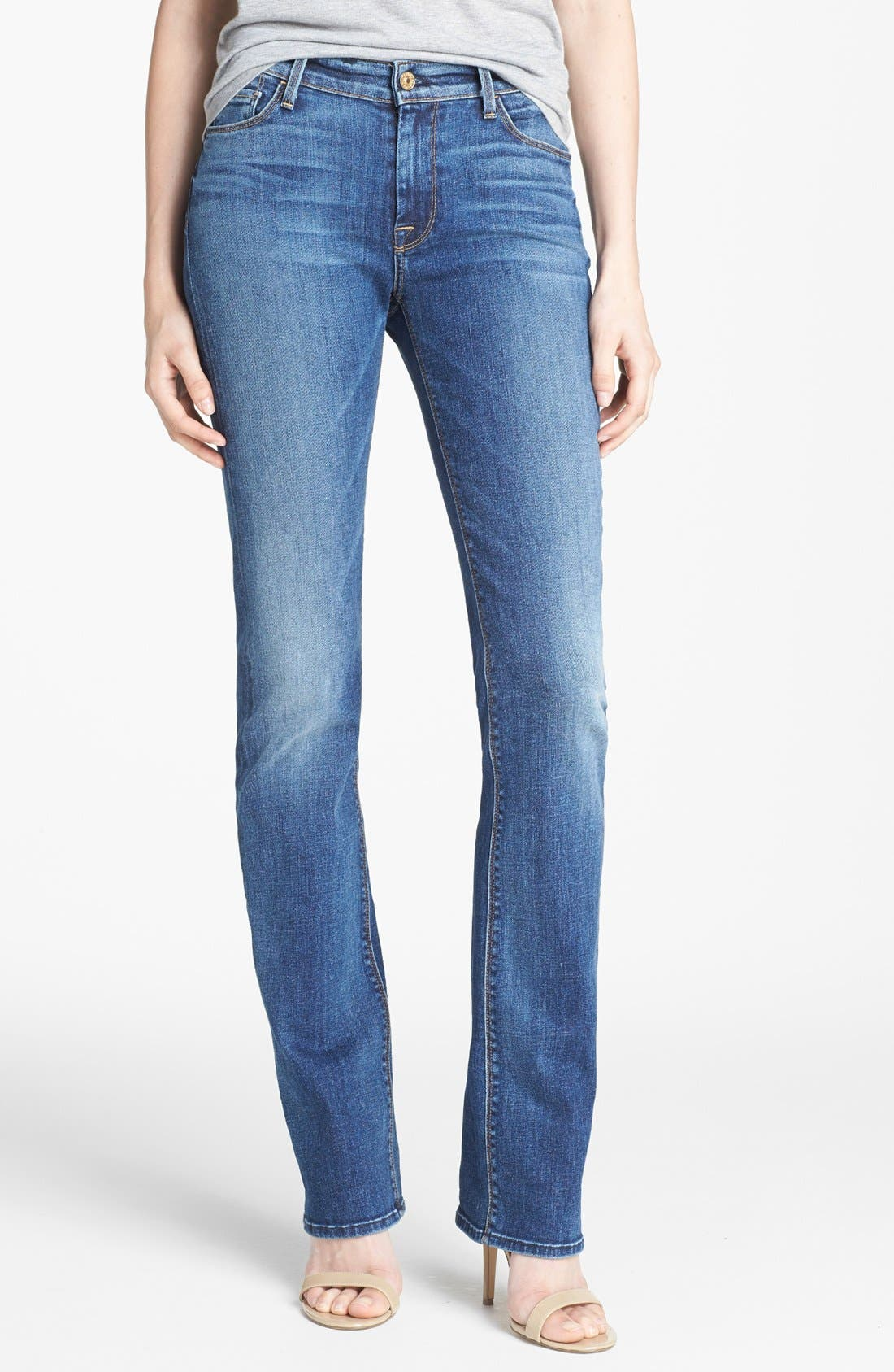 Alternate Image 1 Selected - 7 For All Mankind® 'The Skinny' Bootcut Jeans (Rue de Lille)