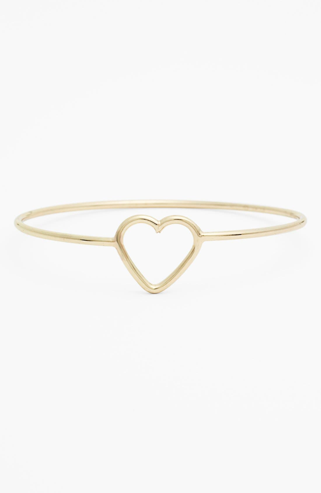 Main Image - Stephan & Co. Heart Bangle (Juniors) (Online Only)