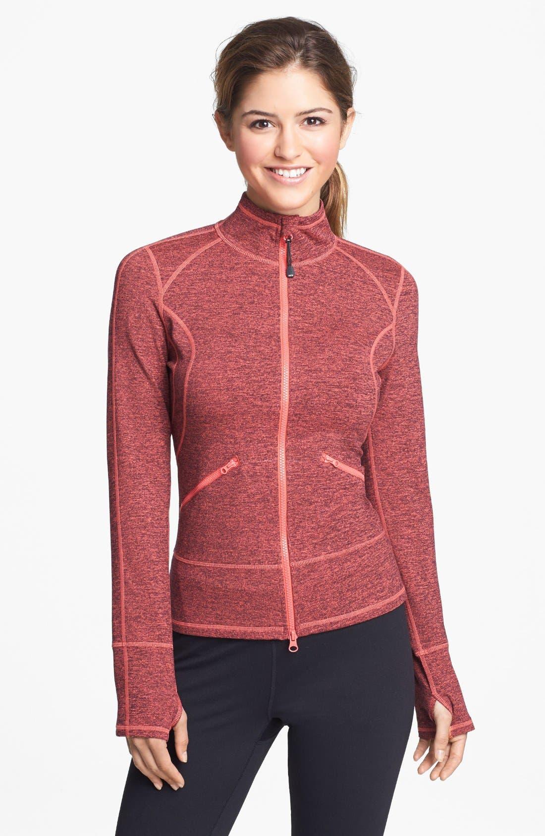 Alternate Image 1  - Zella 'Streamline Cross Dye' Jacket