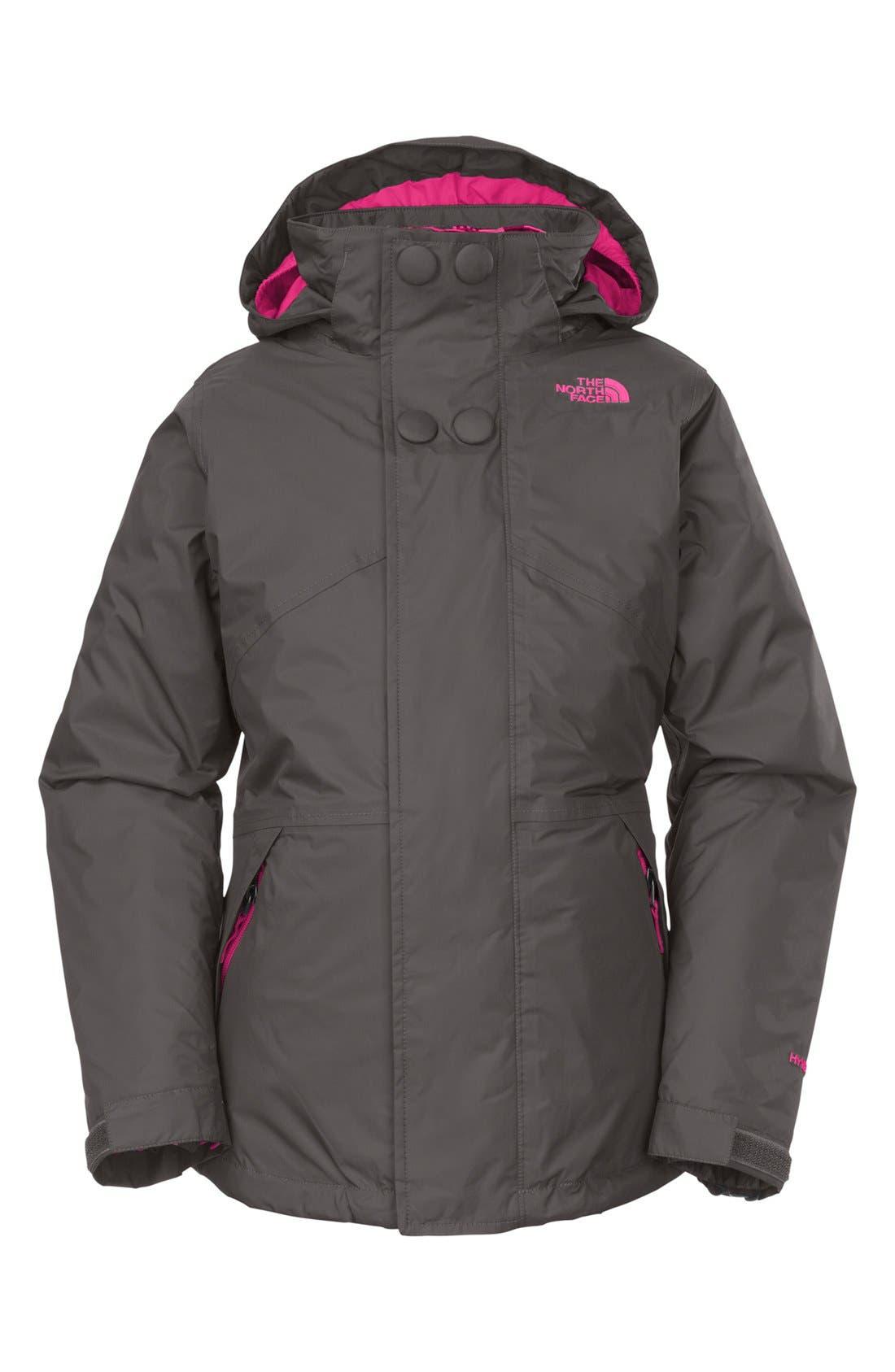 Alternate Image 2  - The North Face 'Maraboo Triclimate®' Waterproof Heatseeker™ Aero Snow Sport Jacket (Little Girls & Big Girls)