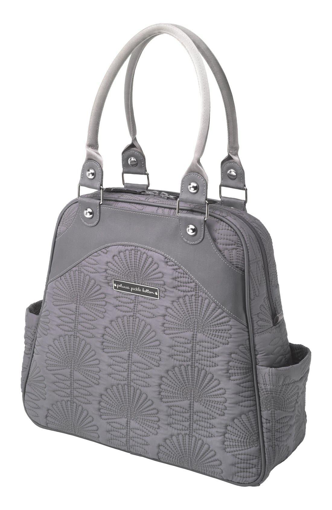 Main Image - Petunia Pickle Bottom 'Embossed Sashay' Diaper Bag