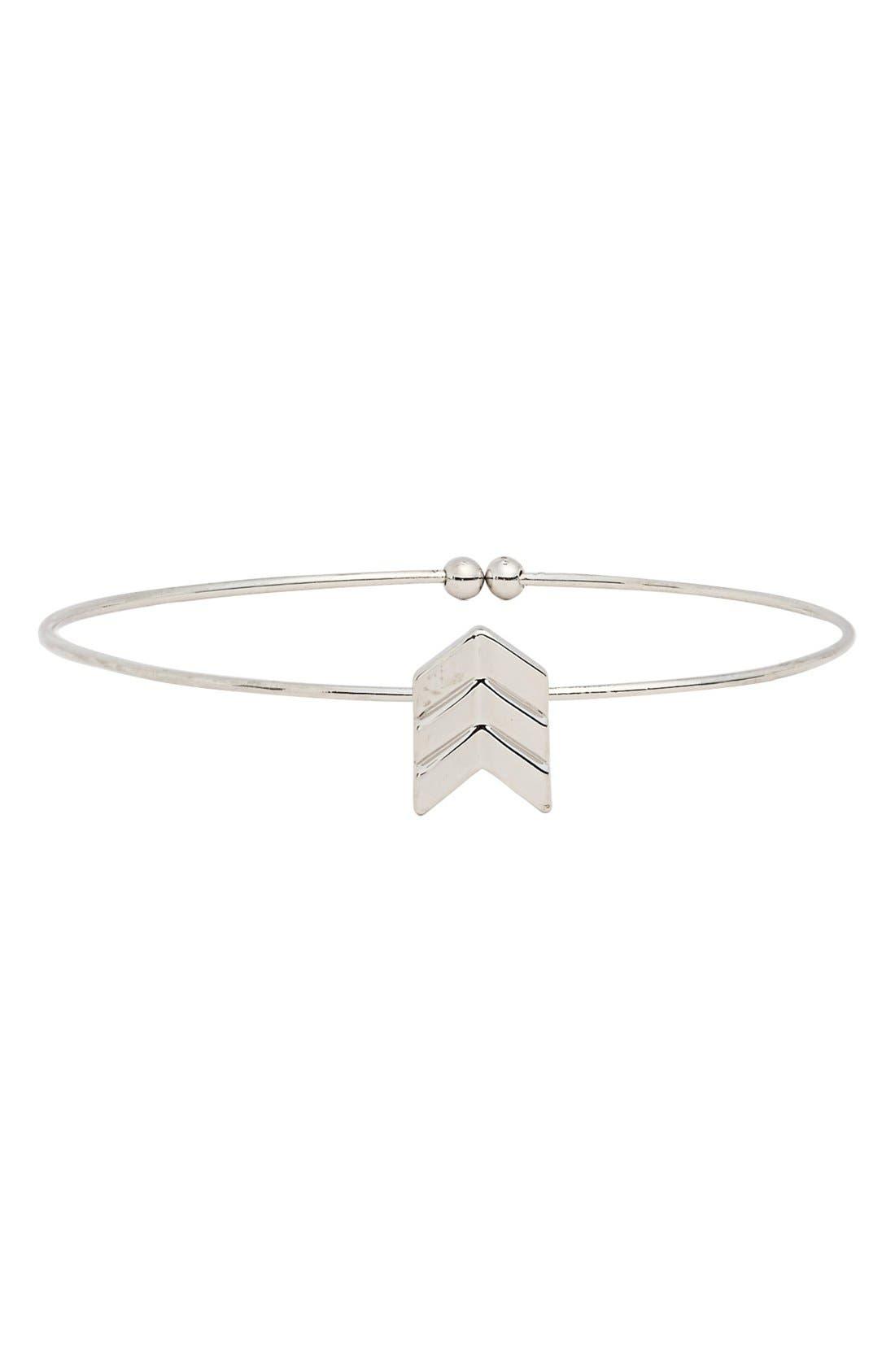 Main Image - BP. Chevron Skinny Bracelet (Juniors)