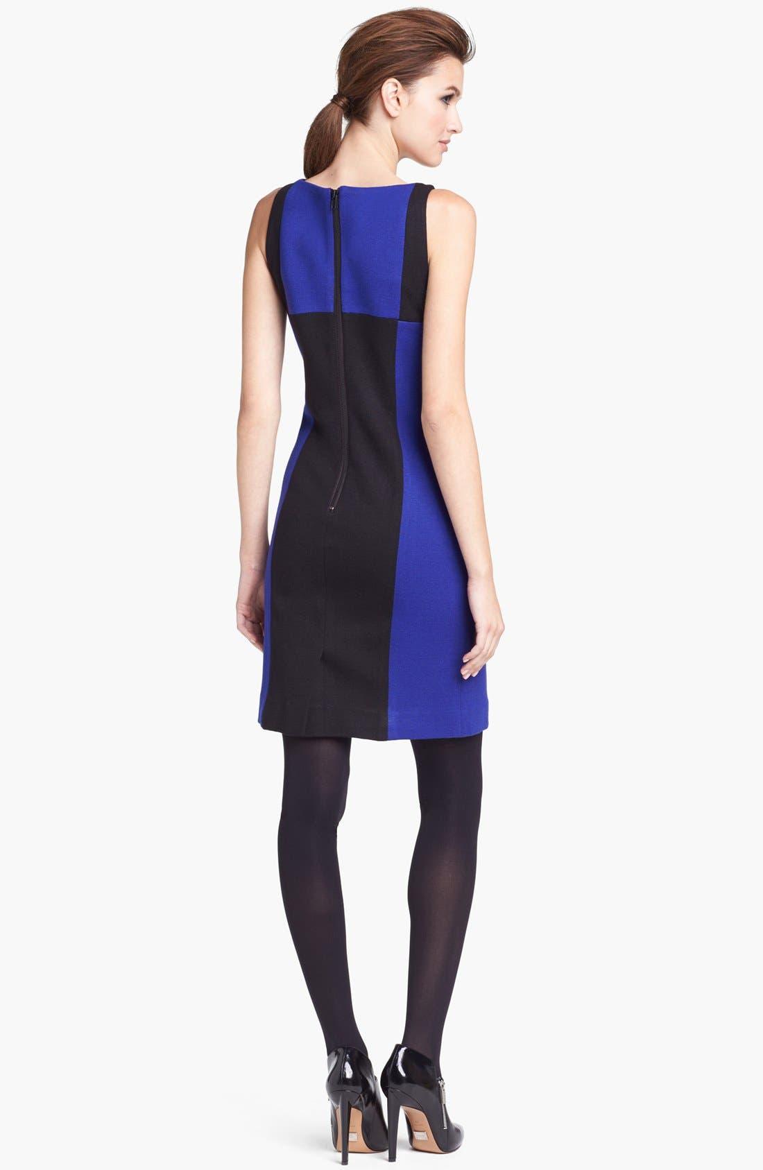 Alternate Image 2  - Milly Colorblock Sheath Dress