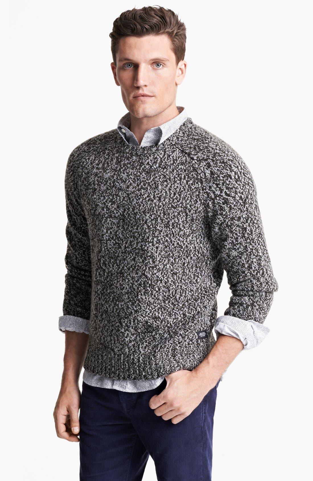 Alternate Image 1 Selected - Jack Spade 'Cameron' Marled Crewneck Sweater
