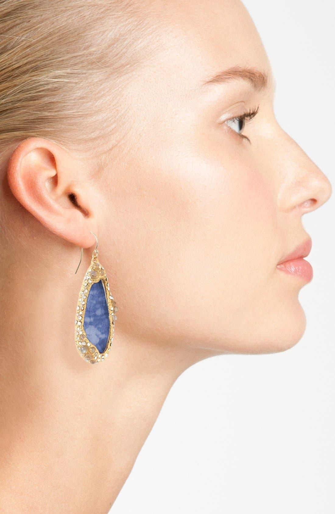 Alternate Image 2  - Alexis Bittar 'Elements - Jardin de Papillon' Teardrop Earrings
