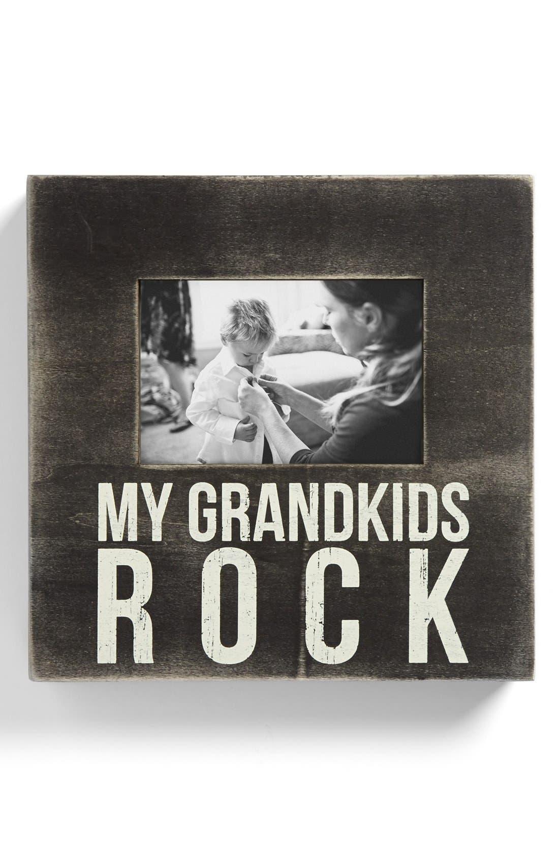 Main Image - Primitives by Kathy 'My Grandkids Rock' Box Frame