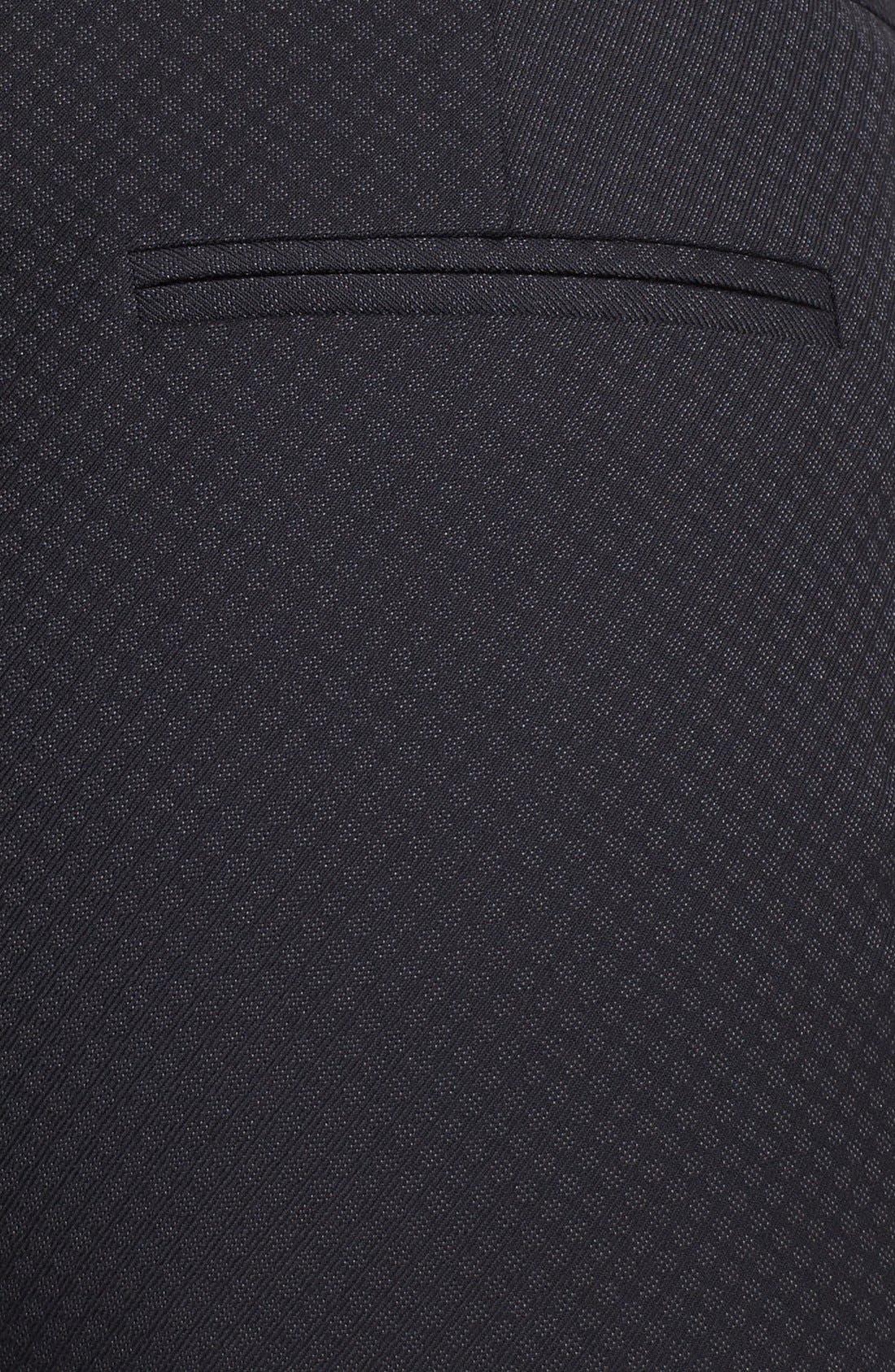 Alternate Image 3  - Halogen® 'Quinn' Jacquard Pants (Regular & Petite)
