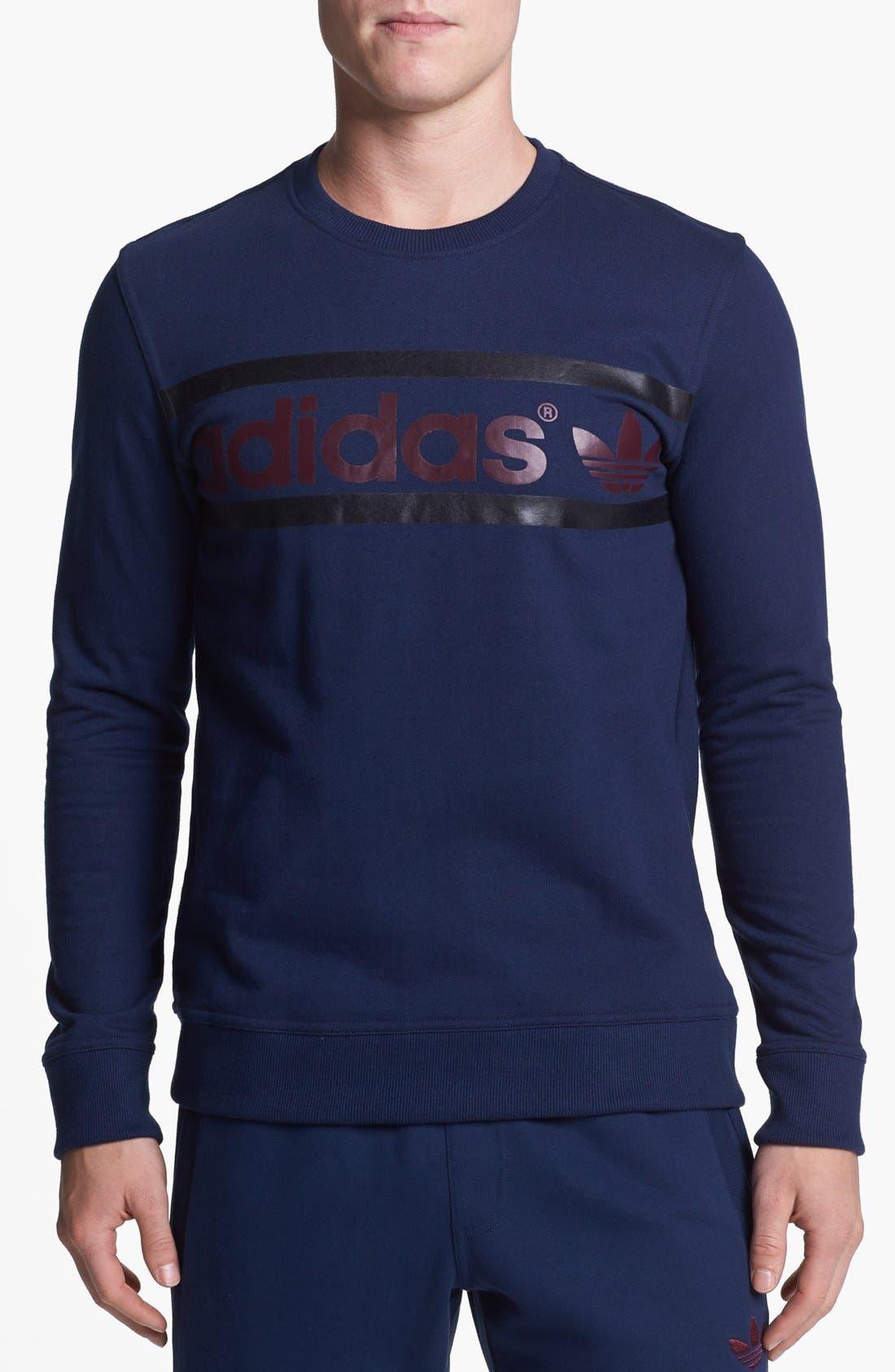 Alternate Image 1 Selected - adidas Originals Logo Sweatshirt