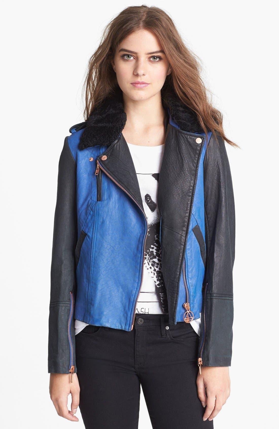 Alternate Image 1 Selected - ELEVENPARIS 'Trinite' Leather Jacket