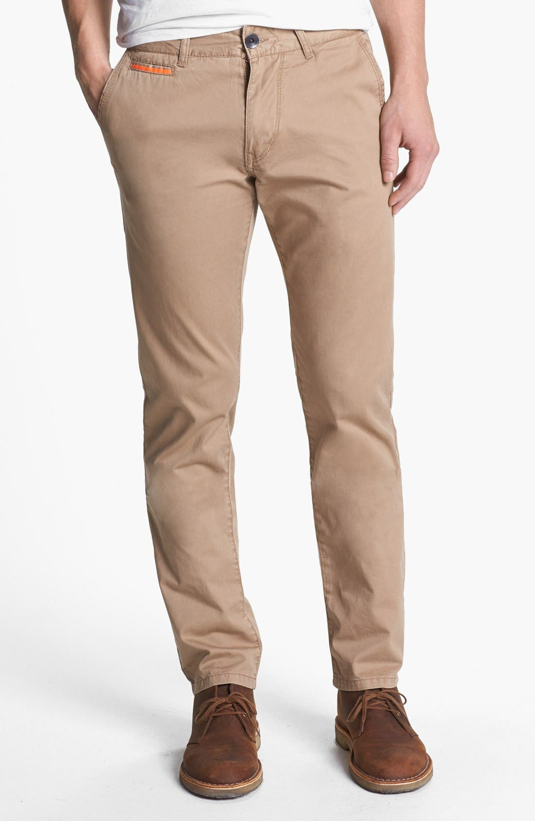 Alternate Image 1 Selected - Union 'Camano' Slim Straight Leg Chinos