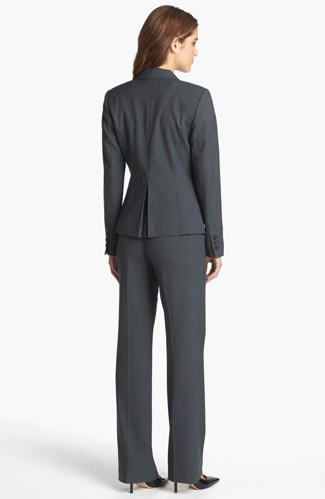 Alternate Image 5  - Halogen® 'Fox Hunt' Suit Jacket (Regular & Petite)