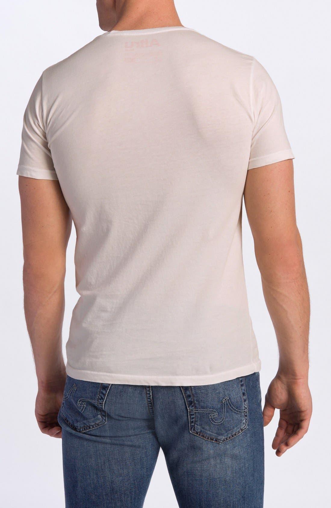 Alternate Image 2  - Altru 'LIFE®' Graphic Crewneck T-Shirt