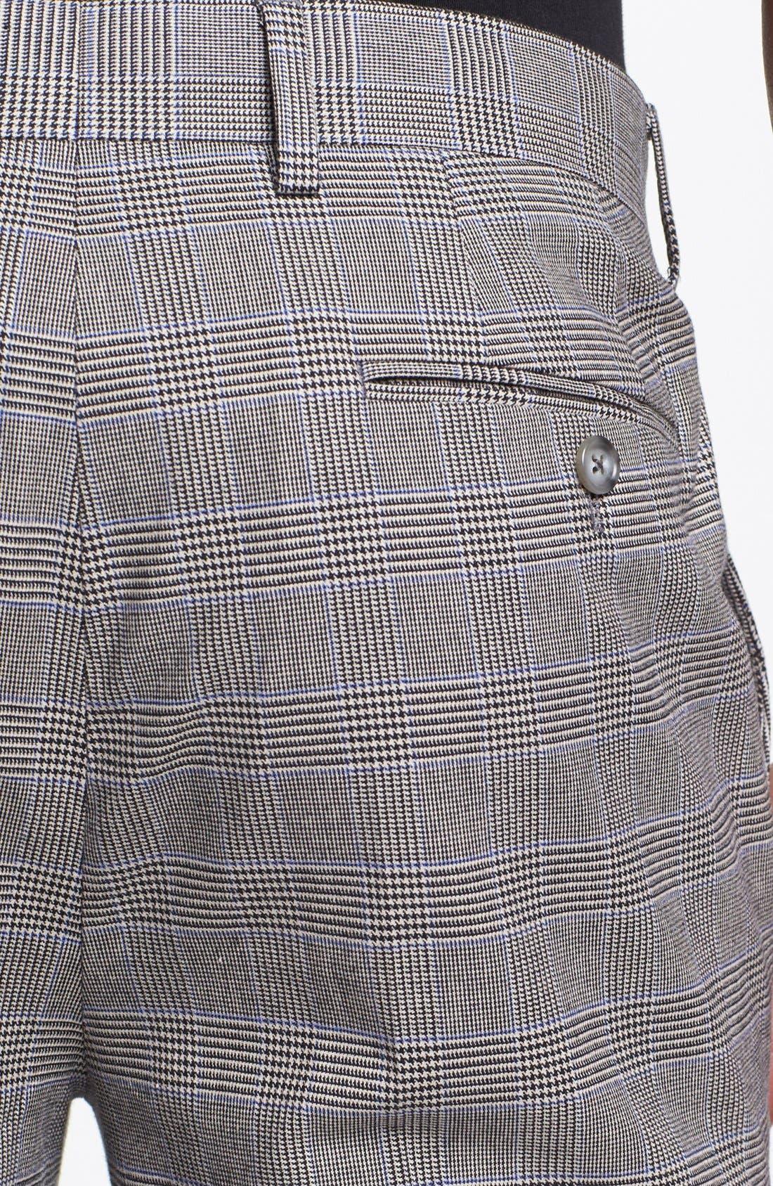 Alternate Image 3  - 1901 Slim Fit Glen Plaid Pants