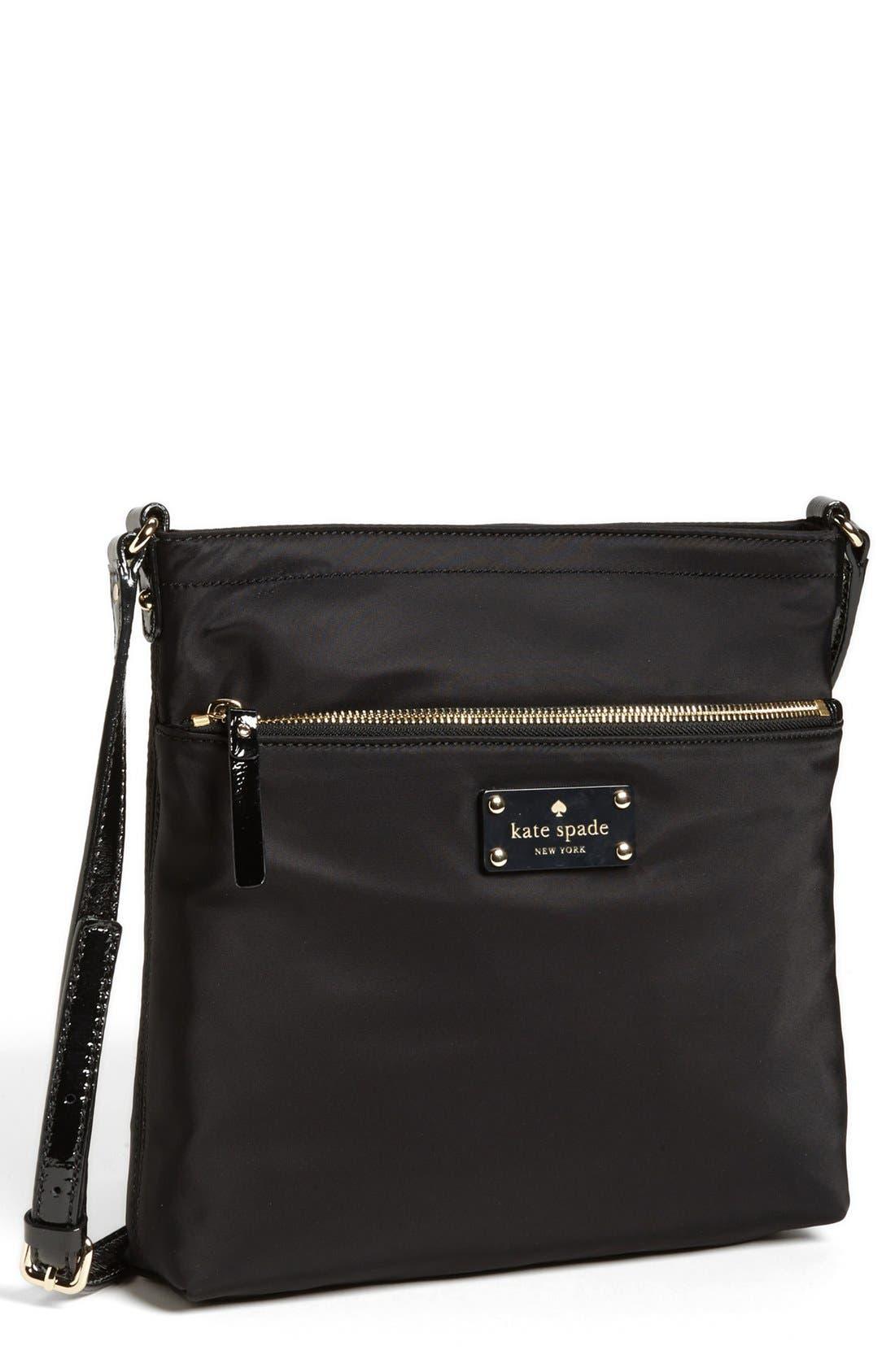 Main Image - kate spade new york 'jan' nylon crossbody bag