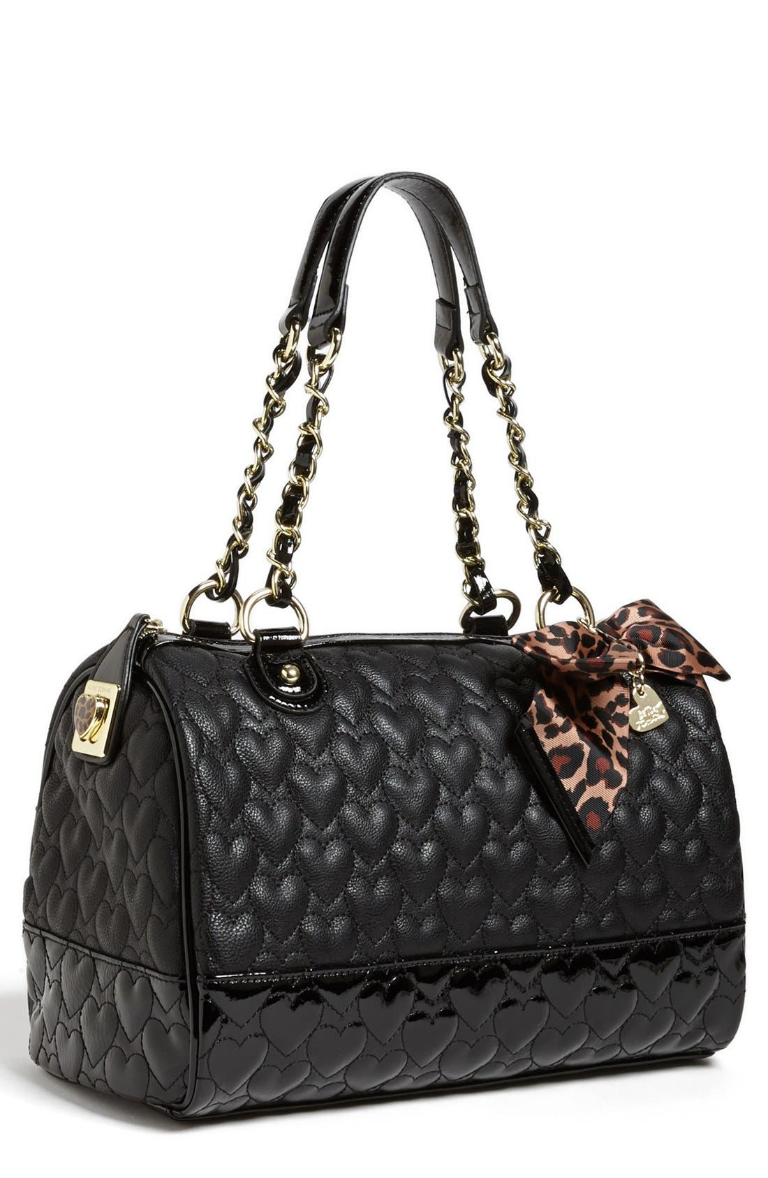 Alternate Image 1 Selected - Betsey Johnson 'Will You Be Mine' Satchel