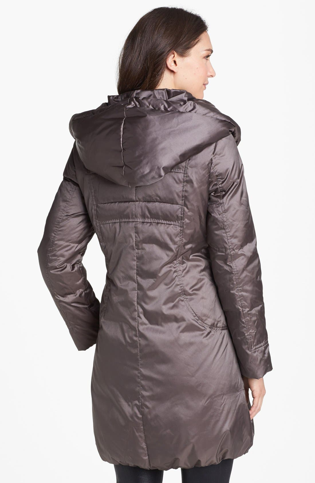 Alternate Image 3  - T Tahari 'Taryn' Pillow Hood Down Coat (Nordstrom Exclusive)