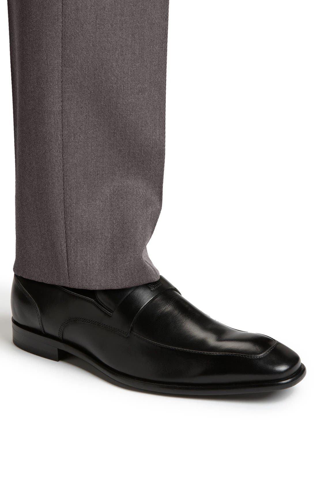 Alternate Image 5  - BOSS HUGO BOSS 'Metero' Loafer (Men)