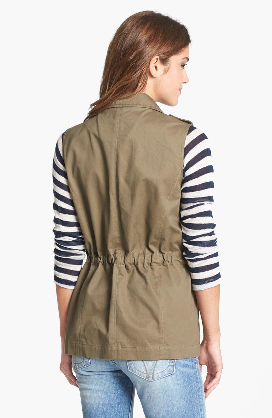 Alternate Image 4  - Olive & Oak Studded Utility Vest