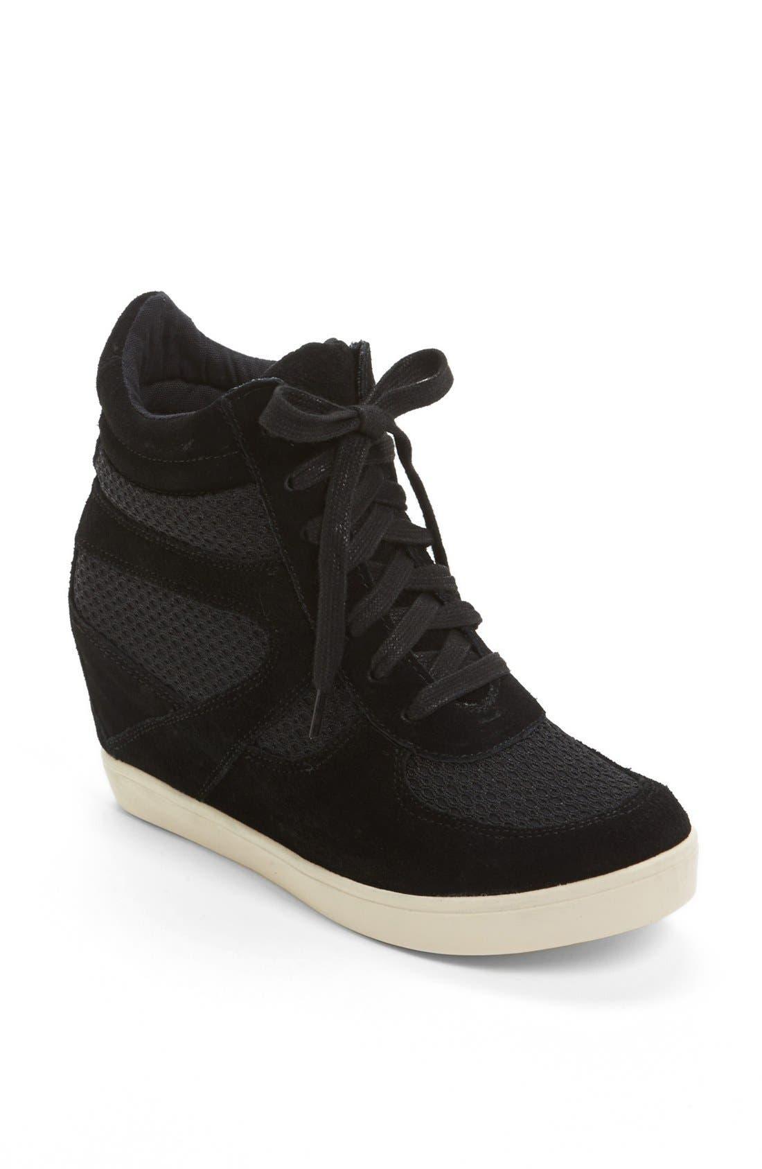 Alternate Image 1 Selected - Steve Madden 'Olympa-X' Wedge Sneaker